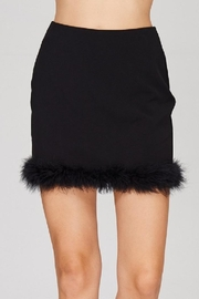 Emory Park Fur Trim Skirt - Product Mini Image