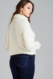 Emory Park Fuzzy Turtleneck Sweater - Back cropped