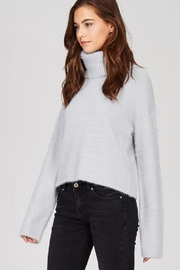 Emory Park Fuzzy Turtleneck Sweater - Front full body