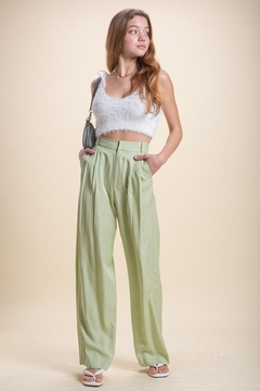 Emory Park High-Waisted Wide-Leg Pants - Product List Image