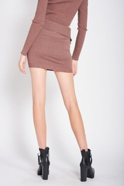 Emory Park Knitted Sweater Mini Skirt - Other