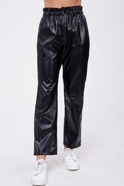 Emory Park Loose Fit 'Pu' Pants - Front full body