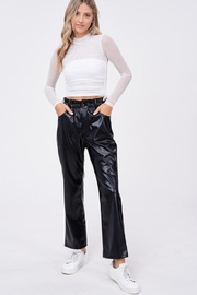 Emory Park Loose Fit 'Pu' Pants - Product Mini Image