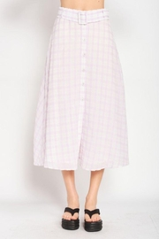 Emory Park Maxi Plaid Skirt - Other