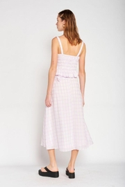 Emory Park Maxi Plaid Skirt - Side cropped