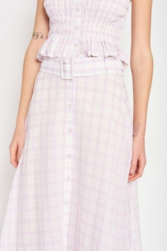 Emory Park Maxi Plaid Skirt - Alternate List Image
