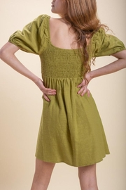 Emory Park Olive Baby Doll Dress - Side cropped