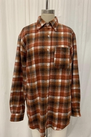 Emory Park Oversized Flannel Top - Product Mini Image