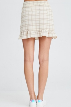 Emory Park Plaid Ruffle Skirt - Alternate List Image