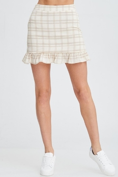 Emory Park Plaid Ruffle Skirt - Product List Image