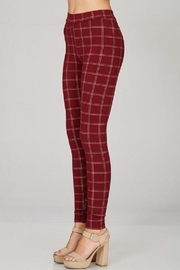 Emory Park Plaid Skinny Pants - Other