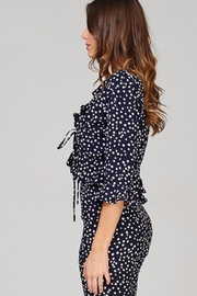 Emory Park Polka Dot Blouse - Front full body