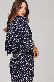Emory Park Polka Dot Blouse - Side cropped