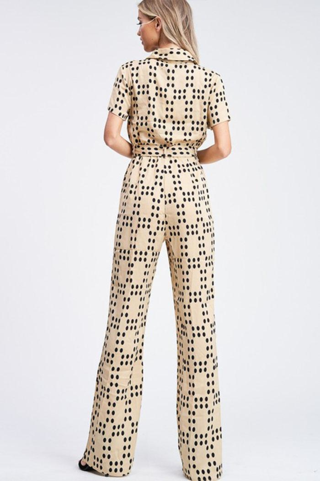 Emory Park Polka Dot Jumpsuit - Side Cropped Image