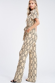 Emory Park Polka Dot Jumpsuit - Front full body