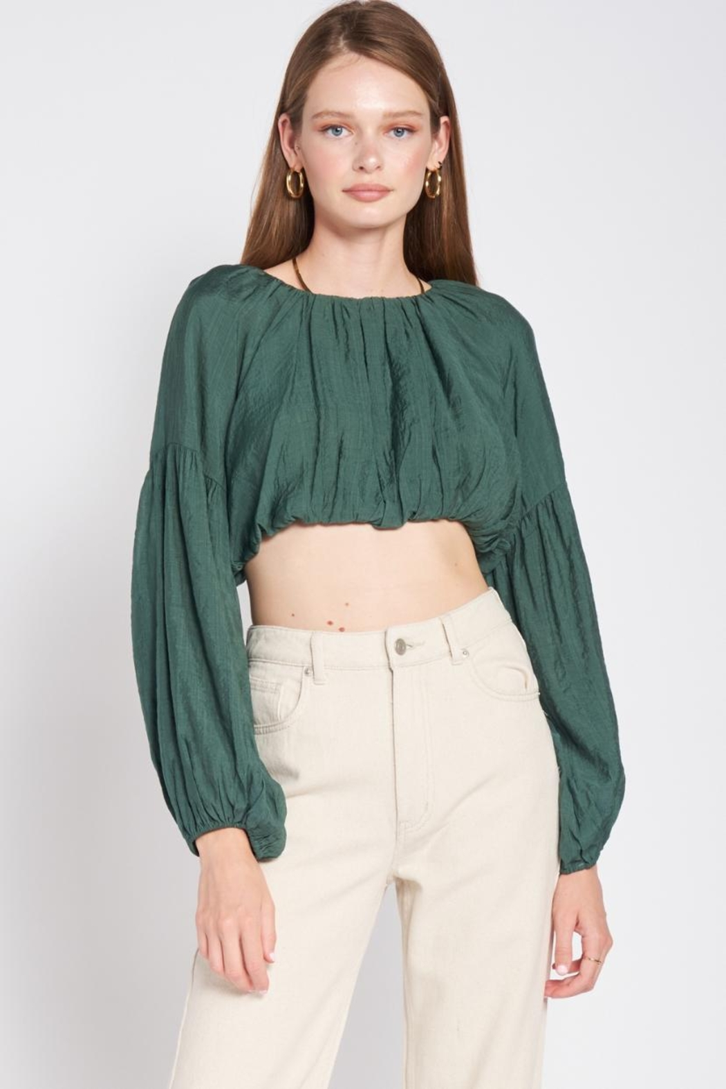 Emory Park Puff Sleeve Top - Main Image