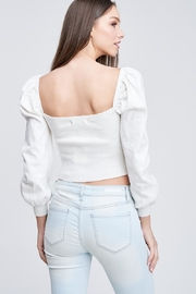 Emory Park Ribbed Crop Top - Back cropped