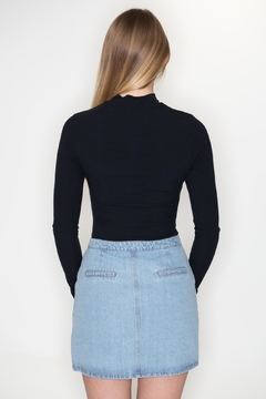 Emory Park Ribbed Cutout Bodysuit - Alternate List Image