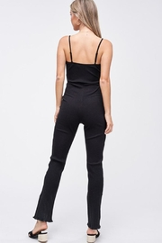 Emory Park Ribbed Knit Jumpsuit - Side cropped