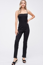 Emory Park Ribbed Knit Jumpsuit - Product Mini Image