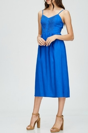 Emory Park Royal Blue Midi - Side cropped
