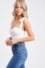 Emory Park Ruched Bust Bodysuit - Side cropped