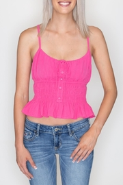 Emory Park Ruffle Crop Top - Product Mini Image