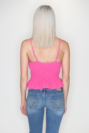 Emory Park Ruffle Crop Top - Side cropped