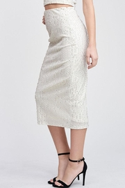 Emory Park Sequin Midi Skirt - Front full body