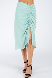 Emory Park Side Gather Skirt - Product Mini Image