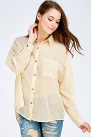 Emory Park Striped Button Down - Product Mini Image