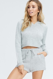 Emory Park Sweater Hood Top - Product Mini Image