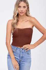 Emory Park Sweater Tube Crop-Top - Front cropped