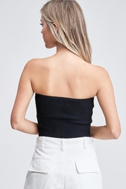 Emory Park Sweater Tube Top - Back cropped