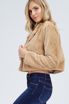 Emory Park Tan Fur Jacket - Alternate List Image