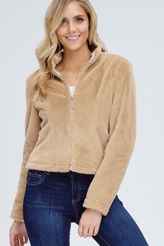Emory Park Tan Fur Jacket - Product List Image