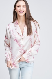 Emory Park Tie Dye Button Down - Front full body