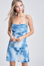 Emory Park Tiedye Mini Dress - Product Mini Image