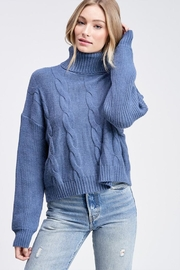 Emory Park Turtleneck Knit Swetaer - Product Mini Image