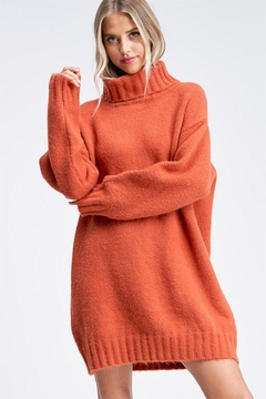 Emory Park Turtleneck Sweater Dress - Product List Image