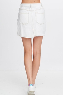 Emory Park White Denim Skirt - Alternate List Image