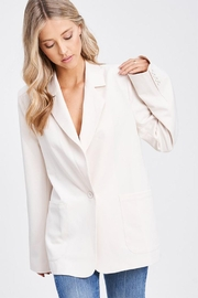 Emory Park Woven Blazer Jacket - Product Mini Image