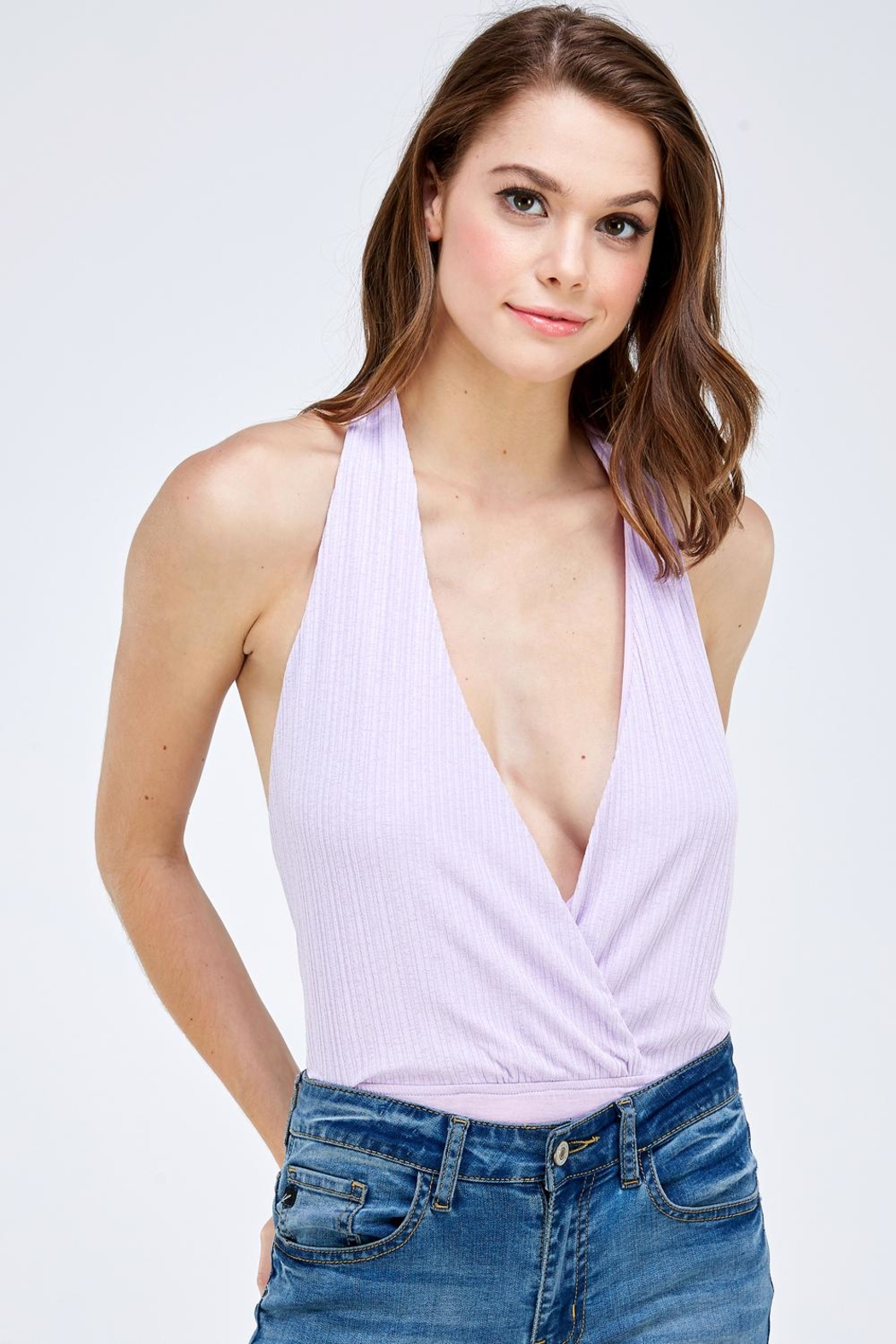 Emory Park Wrapped Front Bodysuit - Main Image