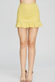 Emory Park Yellow Ruffle Skirt - Product Mini Image