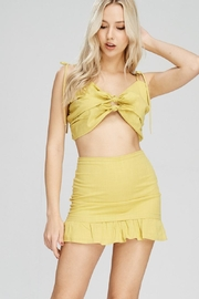 Emory Park Yellow Tie Top - Product Mini Image