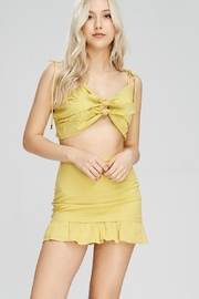 Emory Park Yellow Tie Top - Side cropped