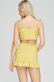 Emory Park Yellow Tie Top - Other