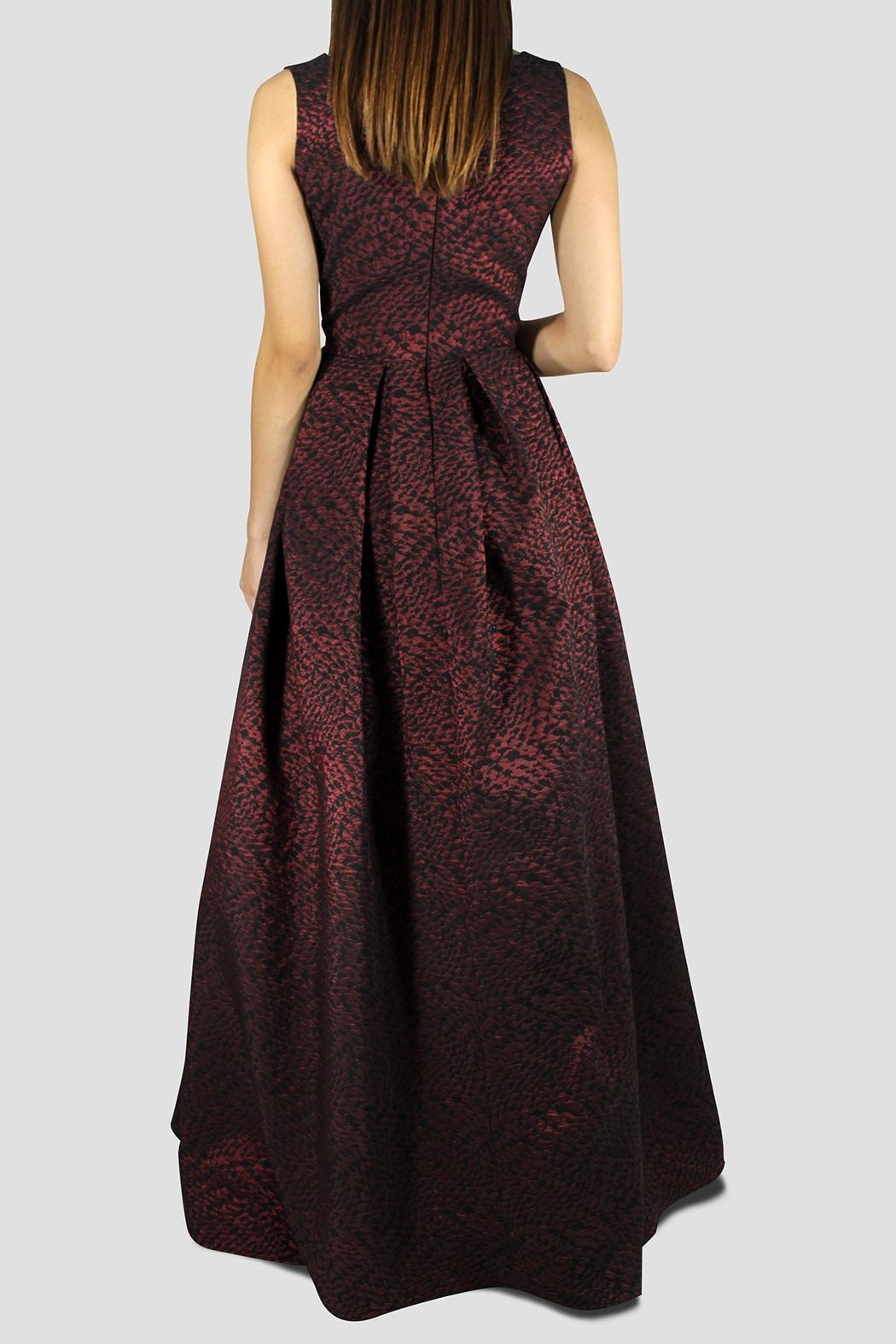 SoZu Empire Bronze Dress - Side Cropped Image
