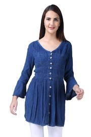 Parsley & Sage Empire Button Tunic - Product Mini Image