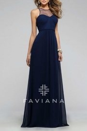 Faviana Empire Chiffon Gown - Front cropped